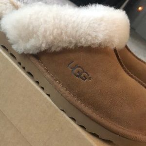 755f1844b4a UGG Shoes | New In Box Scuffette Ii Frill Slippers | Poshmark